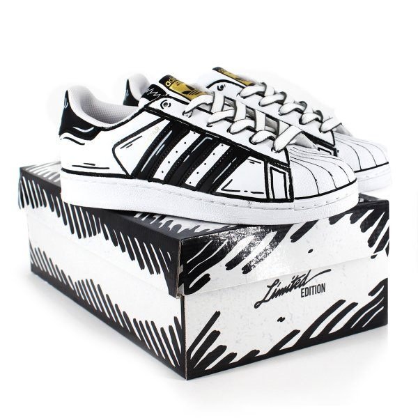 Adidas Superstar Comics