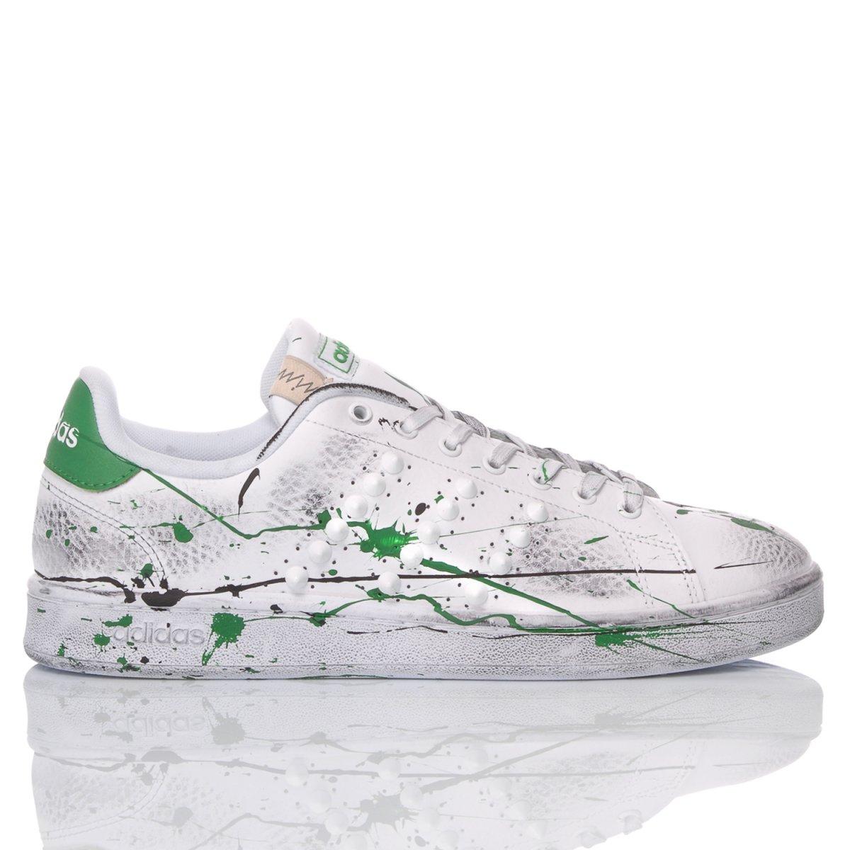 germen bulto Etapa  Adidas Green Paint