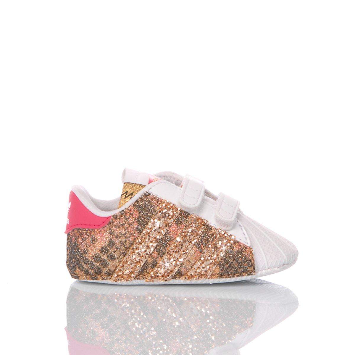 Adidas Superstar Culla Snake Gold