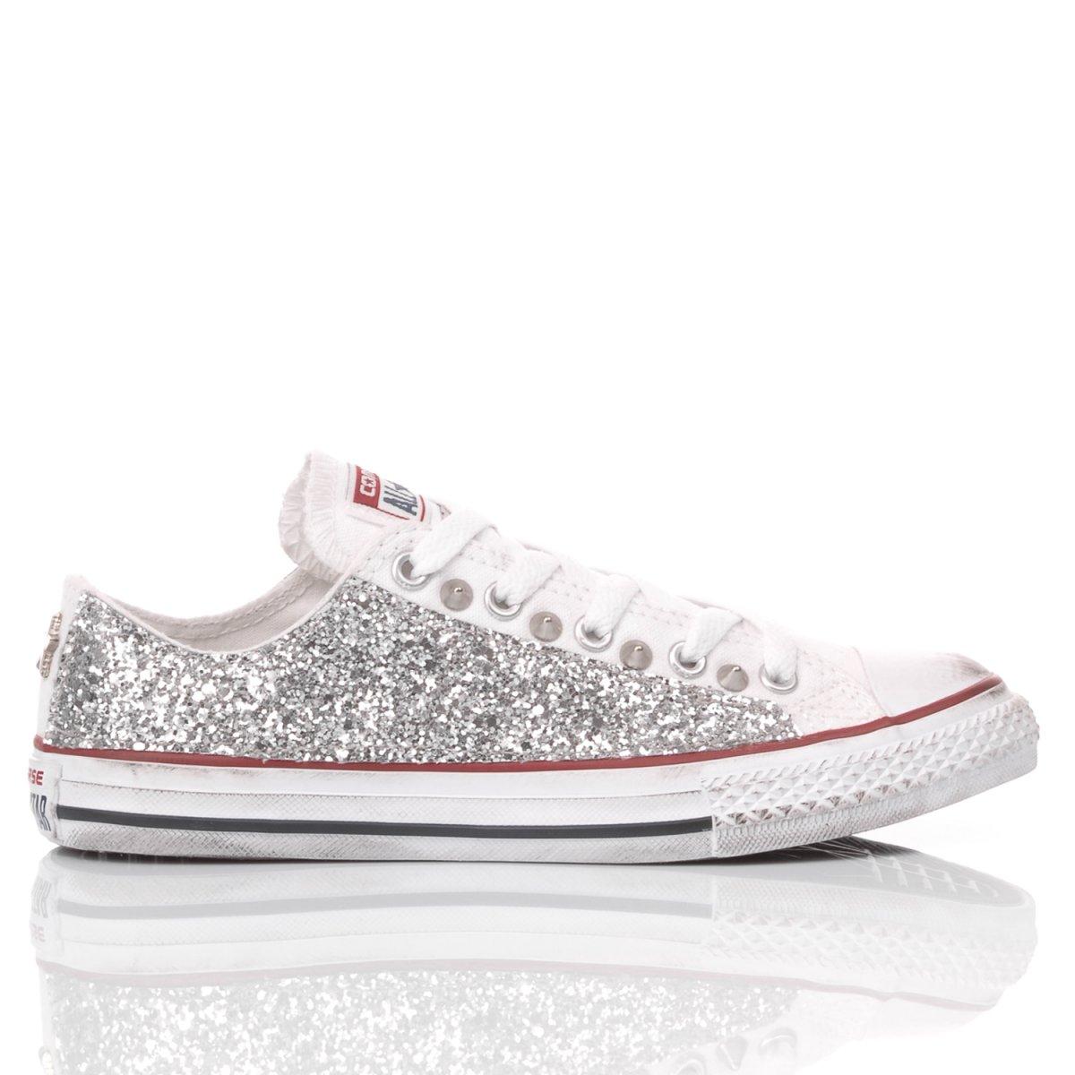 scarpe converse glitter