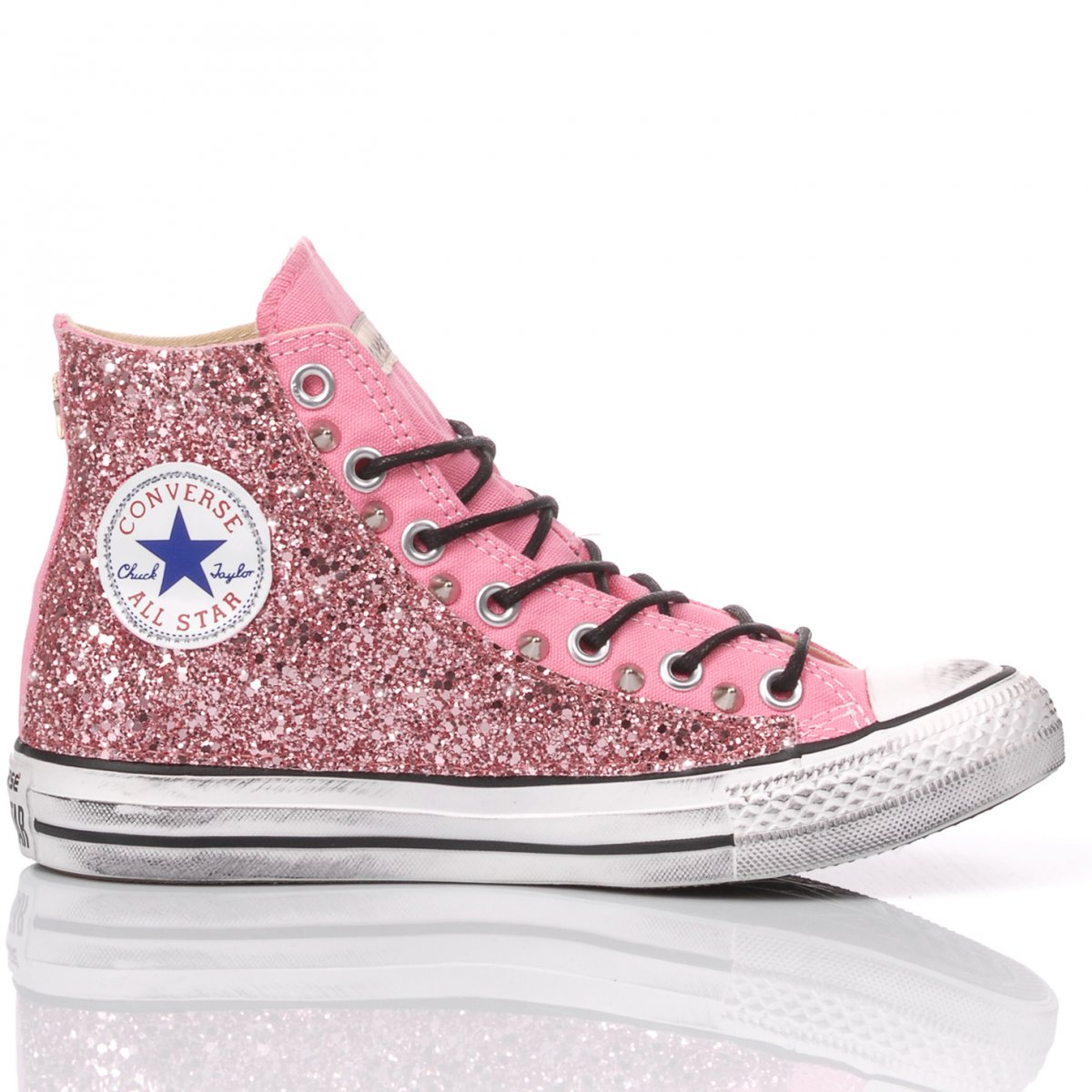 Converse Glitter Pink