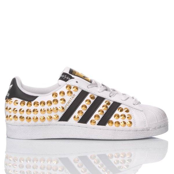 Adidas Superstar London Gold