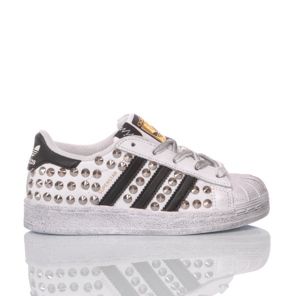 Adidas Superstar Junior London Silver