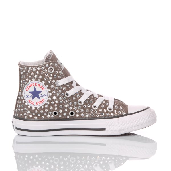 Converse Junior Swarovski Charcoal