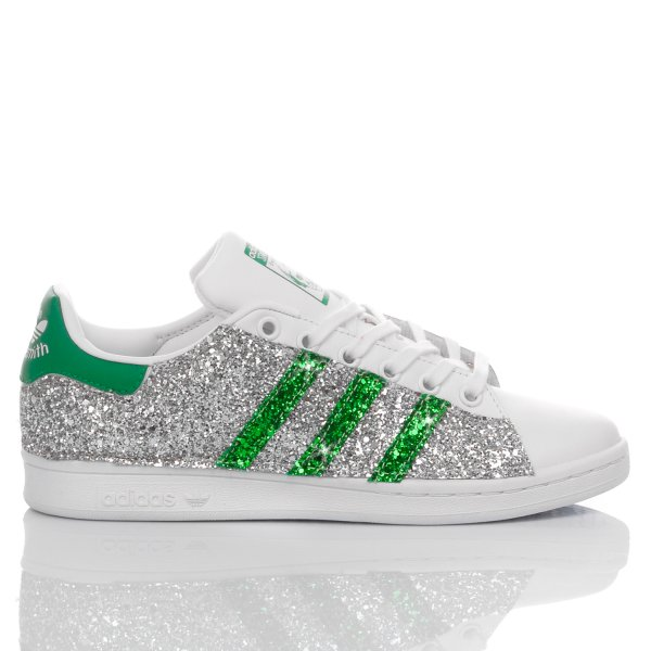 Adidas Stan Smith Glitter Green