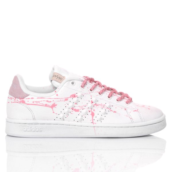 Adidas Pink Paint