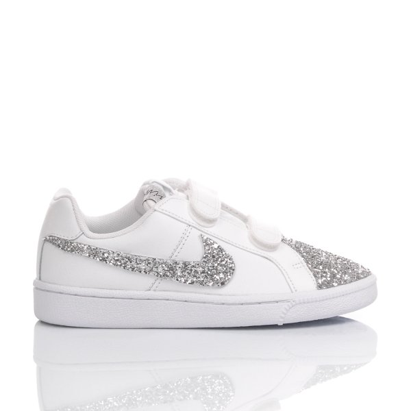 NIKE JUNIOR COURT SILVER