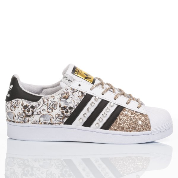Adidas Superstar Diamond Skull