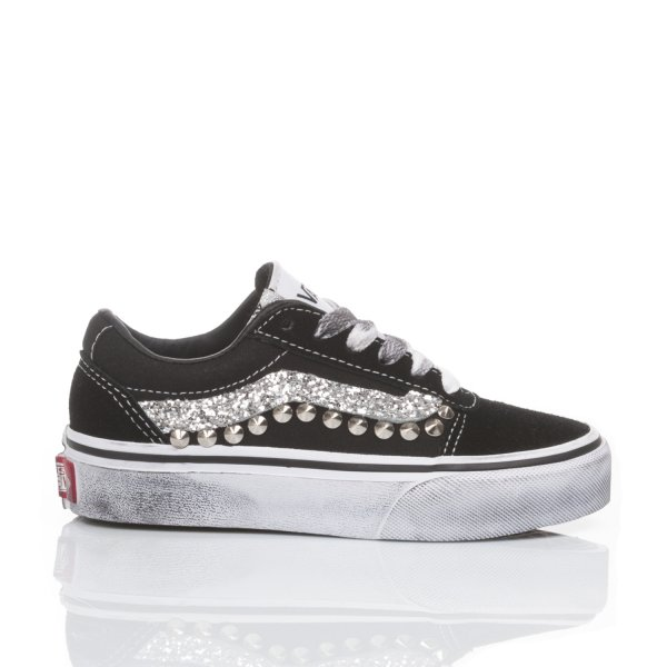 Vans Junior Glitter Wave