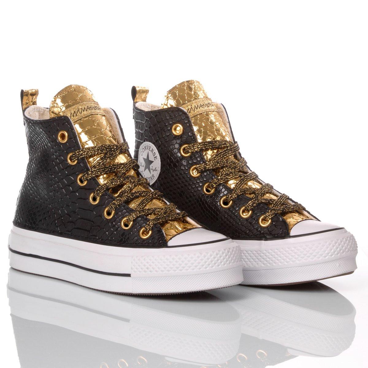 Converse Platform Snake Black/Gold