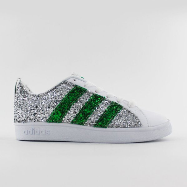Adidas Junior Glitter Green