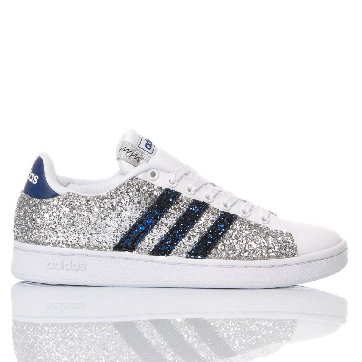 Adidas Glitter Blu