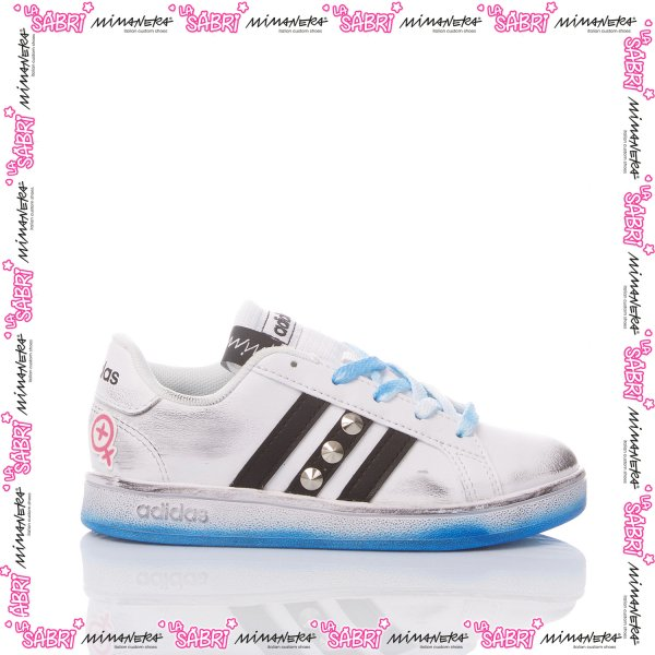 Adidas Junior LaSabri Pika Blue
