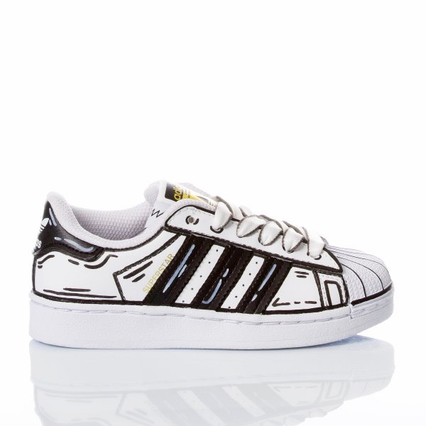 Adidas Superstar Junior Comics