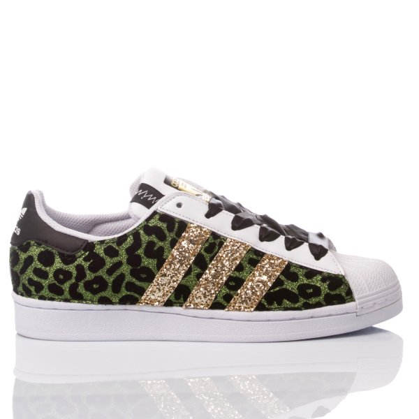 Adidas Superstar Leo Green