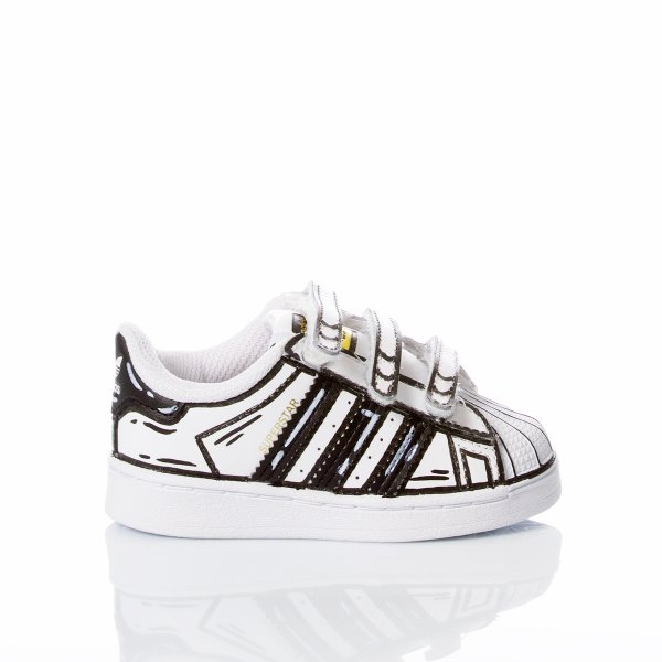 Adidas Superstar Baby Comics
