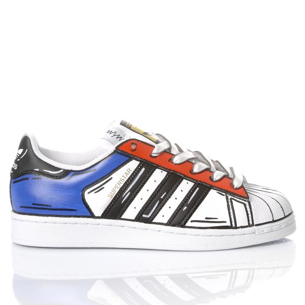 Adidas Superstar Comics Bros
