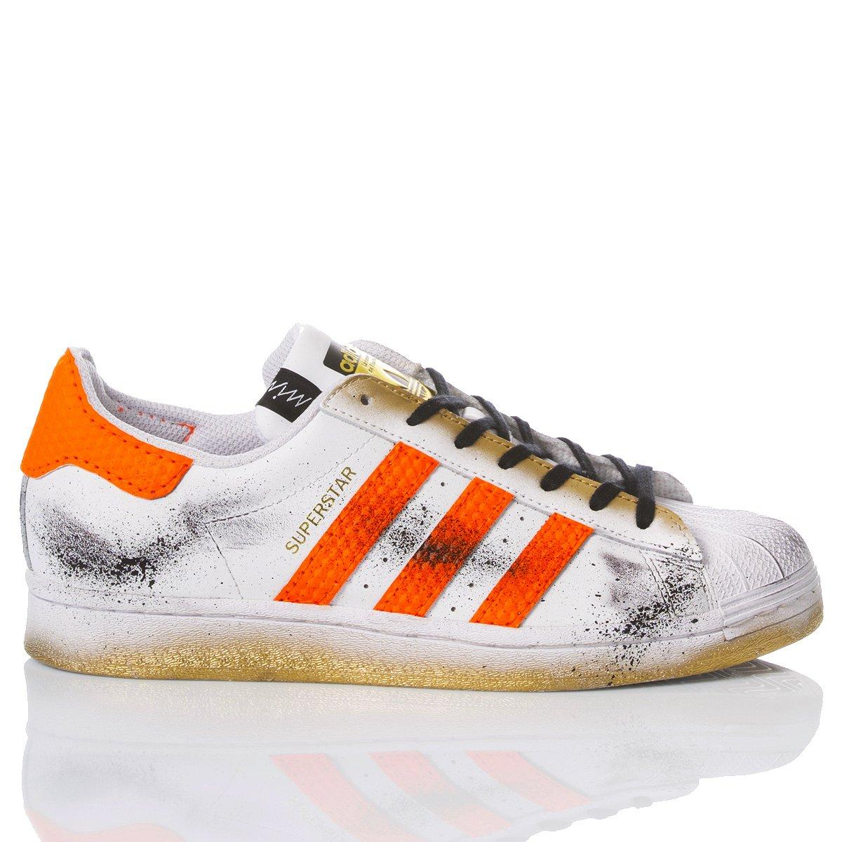 Adidas Superstar Orange Boost
