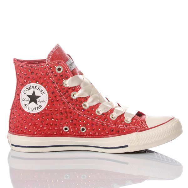 Converse Swarovski LTD Red