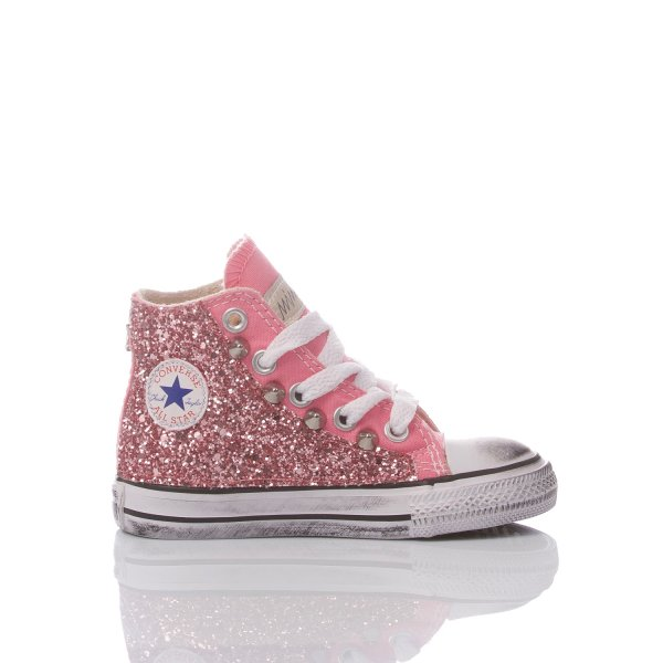 CONVERSE BABY GLITTER PINK