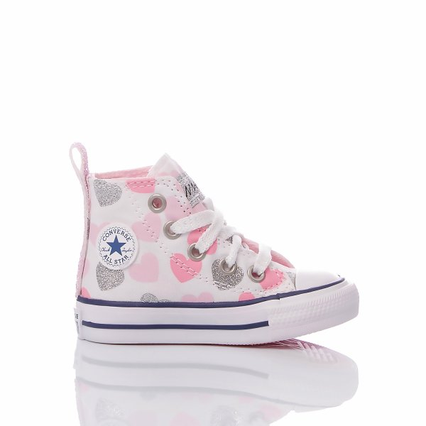 Converse Baby Pink Heart