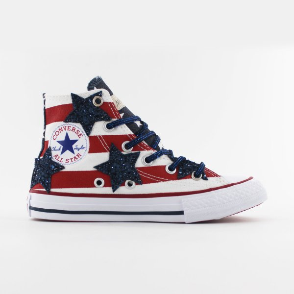 Converse Junior Usa Stars
