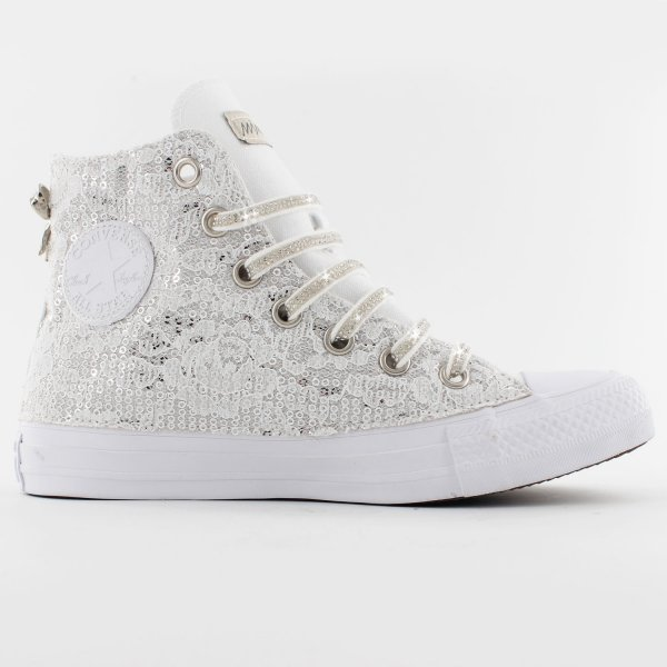 Converse Glamour White