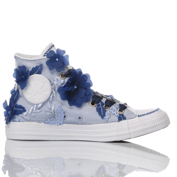 Converse Blue Orchid