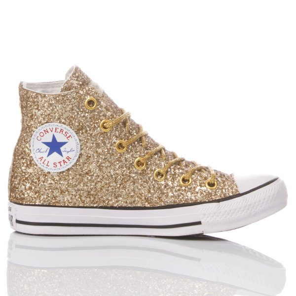 Converse Full Gold