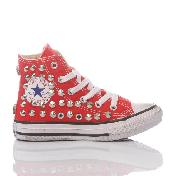 CONVERSE JUNIOR BORCHIA ROSSA