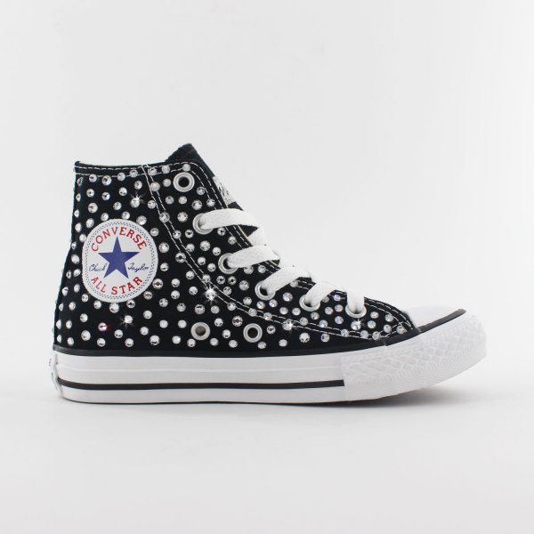 Converse Junior Swarovski Nero
