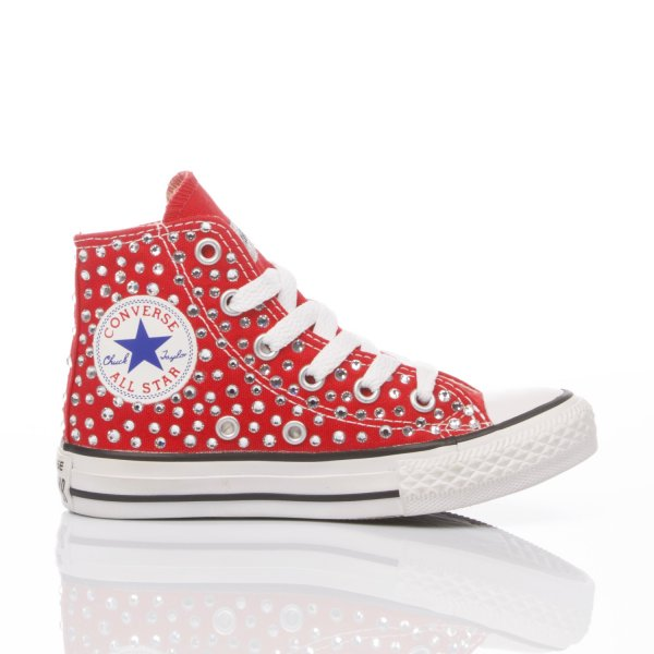 Converse Junior Swarovski Red