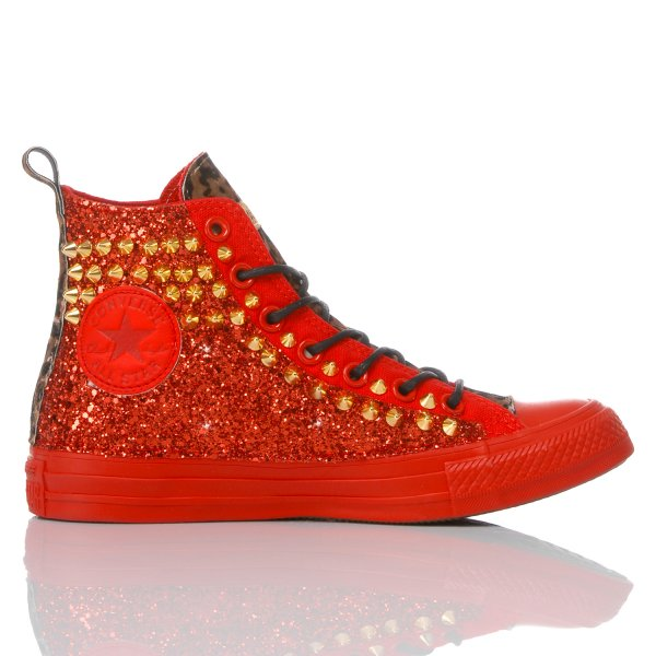 Converse Red Cougar