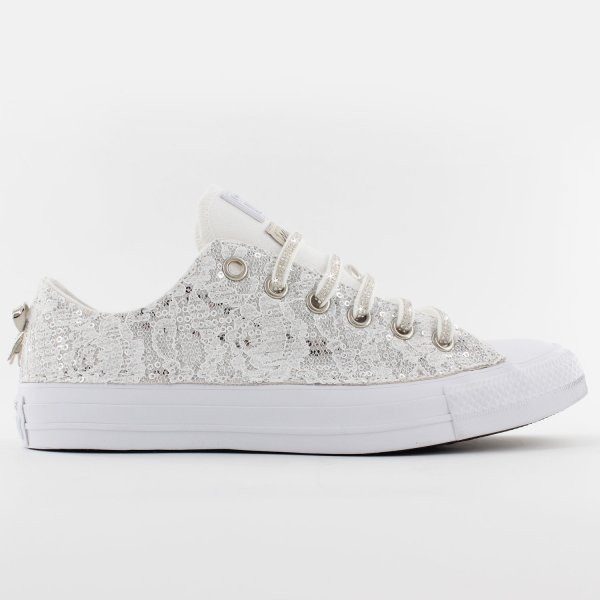 Converse Ox Glamour White
