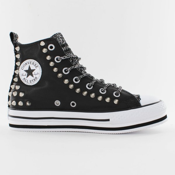 Converse Platform Leather Easy Black