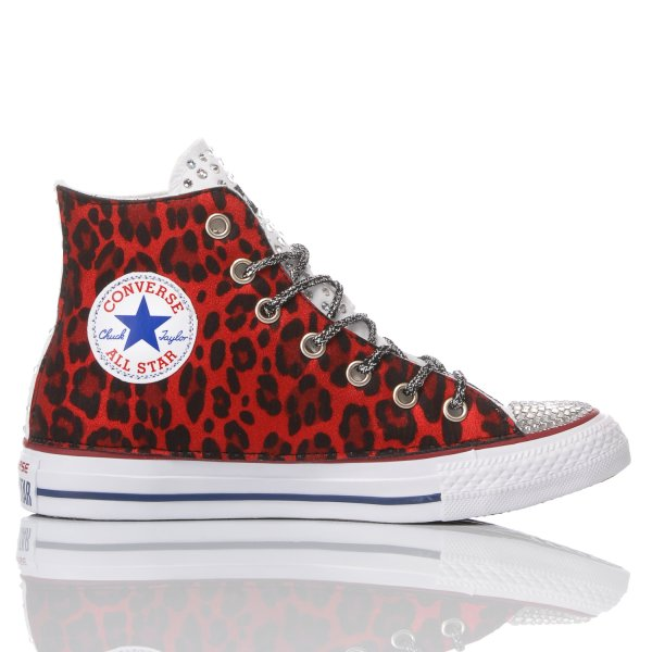 Converse Red Panther