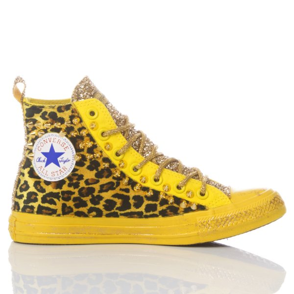 Converse Yellow Cougar
