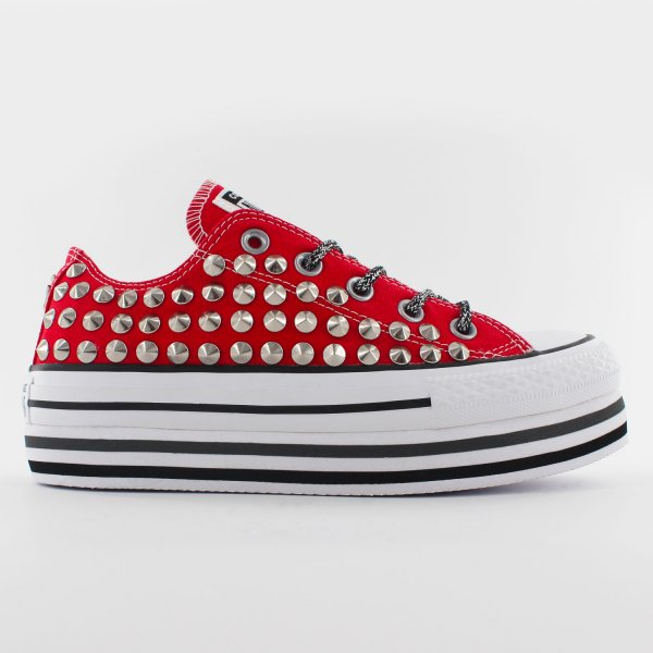 Converse Platform Ox Taylor Red
